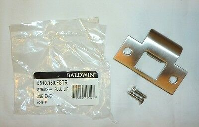 "Baldwin 5510.150.TSTR 2-3/4"" T-Strike Standard Lip w/ Screws SATIN NICKEL NEW!"