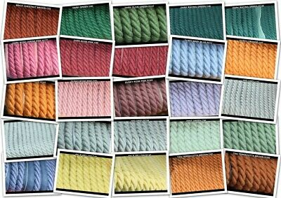 10mm Shabby Chic Cotton Flanged & Plain Cord. For Costume,Trim,Upholstery,Piping