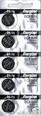 5 New ENERGIZER CR1616 Lithium 3v Coin Battery Australia Stock FAST SHIPPING