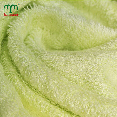 10pc MMY Bulk Bamboo Bath Towels Baby Blanket Green Wholesale Absorbent 70*140cm