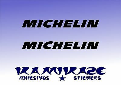 Adhesivo Pegatina Sticker Autocollant Adesivi Aufkleber Decal X2 Michelin