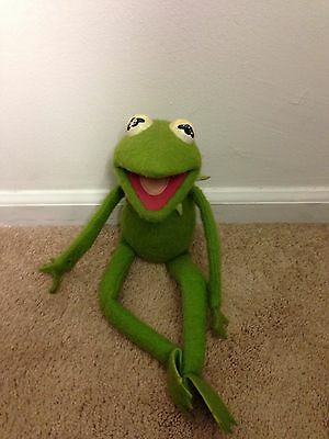 Vintage Fisher Price Jim Henson Muppets Doll: Kermit The Frog