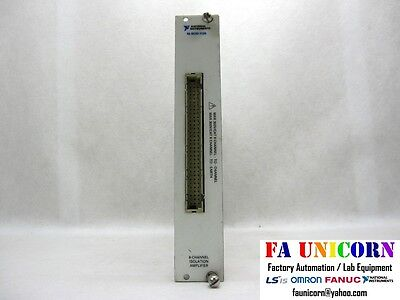 [National Instruments] NI SCXI-1125 8 Channel Isolation Amplifier EMS/UPS