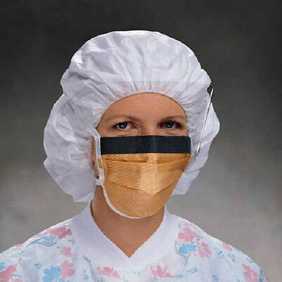 Kimberly-Clark Fluidshield Fog-Free Surgical Mask Orange - Model 48247 Pack of 5