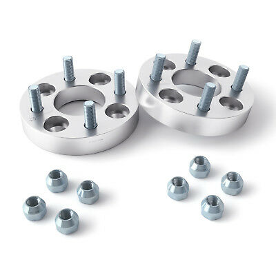 2pc | 25mm (1 inch) Wheel Spacers | 4x101 or 4x101.6 Bolt Pattern | Golf Cart