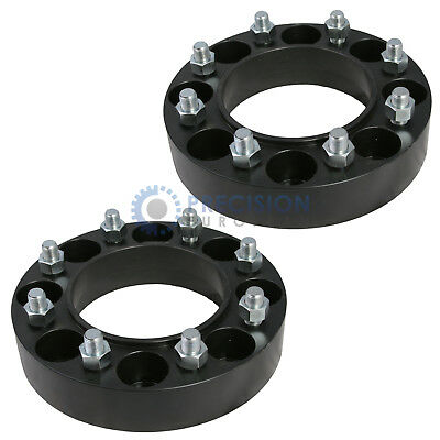 "2pc 2"" Skid Steer Wheel Spacers - 8 Lug Bobcat Case CAT John Deere New Holland"