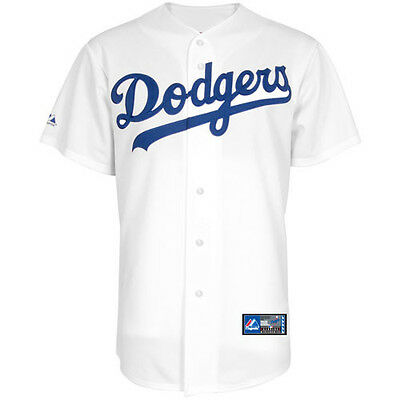 MLB Baseball Trikot Jersey LOS ANGELES L.A. DODGERS Home white von Majestic