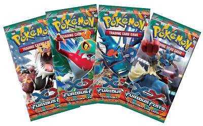 10-Cards 1 x Booster Pack XY3 Furious Fists Pokemon | Genuine Sealed English