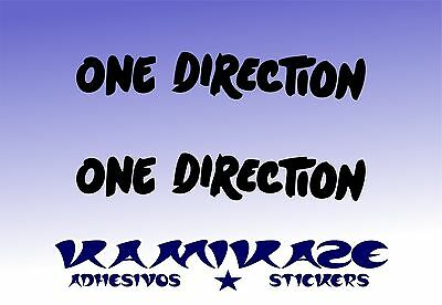 Adhesivo Pegatina Sticker Autocollant Adesivi Aufkleber Decal X2 One Direction