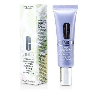NEW Clinique SuperPrimer Colour Corrects (# Sallowness (Purple) 30ml/1oz Womens