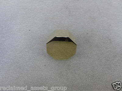 Baldwin 5073.030.IMR Polished Brass 1/2 Pair of 5073 Solid Brass Knobs Less Rose