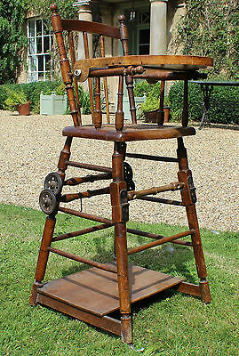 Edwardian Metamorphic High Chair