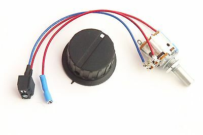 Switch Potentiometer for Powakaddy Freeway & Legend Trolleys C/w Operating Knob.