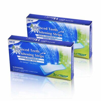 Whitestrips - Advanced Teeth Whitening Zahnaufhellungsstreifen 56X