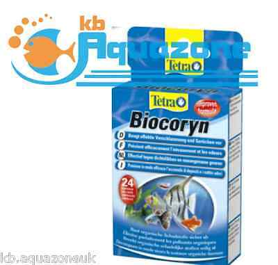 Tetra BIOCORYN * 12 or 24 tablets CONDITIONER *  Bacteria, Water Clarity * NEW