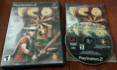 Ico (PlayStation 2, 2001) COMPLETE! PS2 two video game puzzle sony