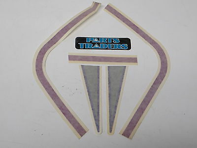 POLARIS OEM NOS SNOWMOBILE 92 500 NOSE CONE DECALS PK OF TWO 7073172 707371