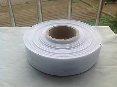 Truck Reflective Conspicuity Tape WHITE SILVER 3m=10' CCC=DOT-C2 TONMIN BRAND