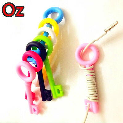Key Cord Winder, Multi-colour Quality Product Cute Cable Roller weirdland