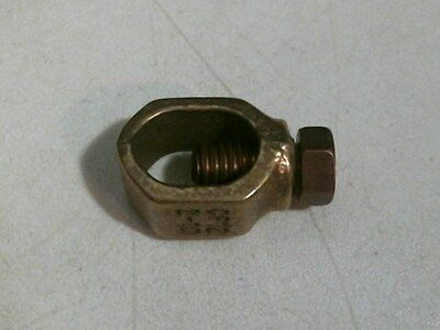 "Erico CP12 Grounding Rod Clamp, 1/2"", Bronze FREE SHIPPING"