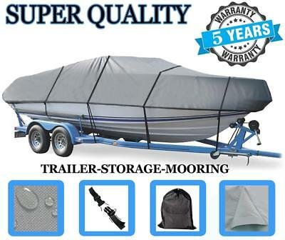 """BOAT COVER FITS V-HULL RUNABOUT Boat 20'-22' up to 100"""" BEAM I/O"""