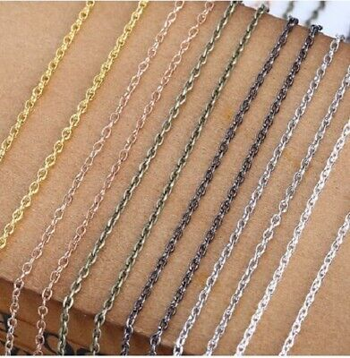 """Necklace Chain 36""""-72"""" for Jewelry Making Findings 9 Colors! (1PC) US SELLER"""