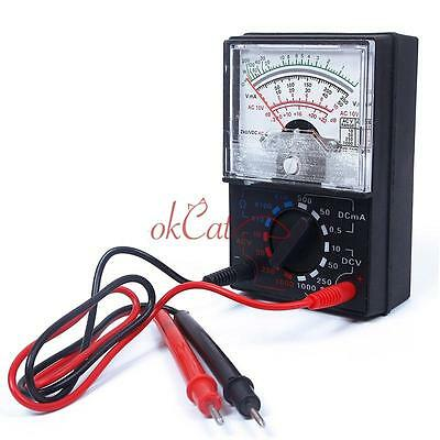 Electric AC/DC OHM Voltmeter Ammeter Multimeter Meter Tester MF-110A Accurate