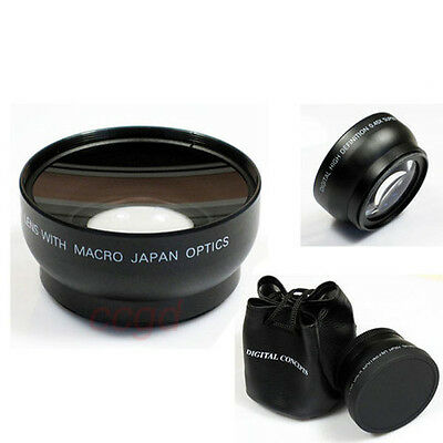 HD 67MM 0.45x Wide Angle Macro Lens for Canon Nikon Sony Pentax 67MM DSLR Camera