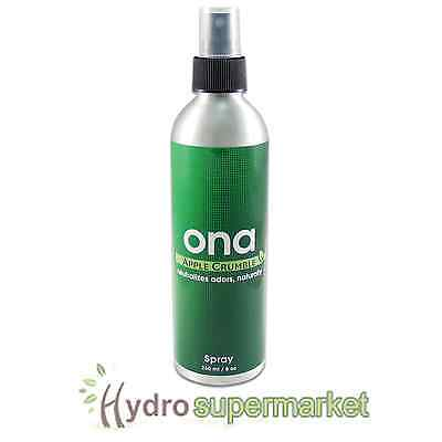 Ona Apple Crumble Spray - Odour Neutralisi​ng Agent 250Ml - Hydroponics
