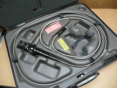 OLYMPUS IF6D4-20 INDUSTRIAL AREOSPACE FLEXIBLE FIBER BORESCOPE w/ CARRYING CASE