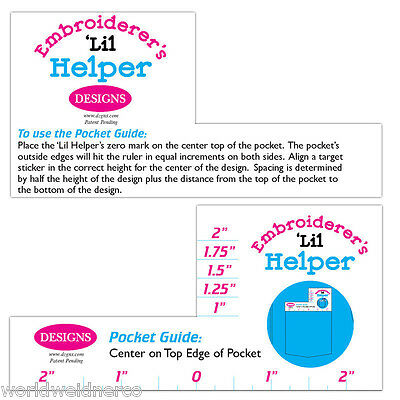 Designs in Machine Embroidery DIME Embroiderer's Lil Helper Hoop Pocket Guide