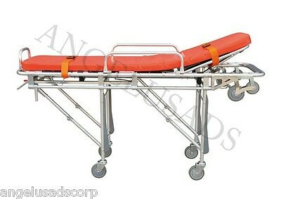 Emergency Medical Hospital Stretcher Ambulance Automatic Loading Folding Camilla