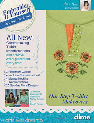 Designs in Machine Embroidery DIME Embroider It Yourself - Designer Necklines