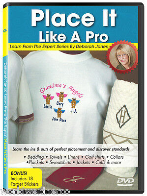 Designs In Machine Embroidery DIME Learn From the Expert Vol 6: Place Like a Pro