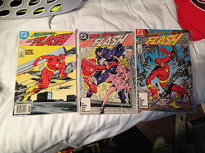 The New Flash 1987 #1-3