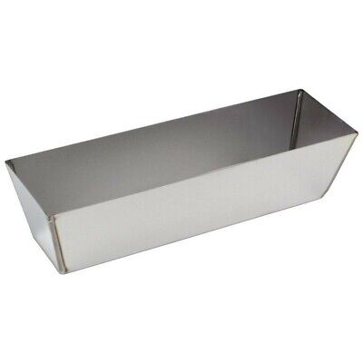 Kraft Tool Stainless Steel Drywall Mud Pan 12-inch Made in the USA