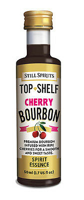 20x Still Spirits Top Shelf Cherry Bourbon homebrew supplies spirit essence