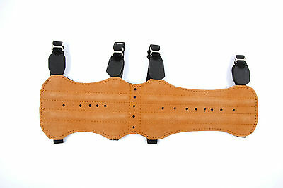 BEARPAW Armschutz Lang Long Fashion traditionell Bogensport Leder