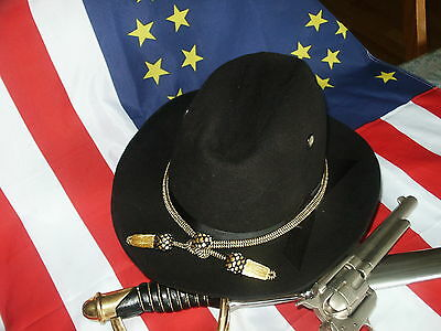 1876 Indian Wars,Spanish American War Cavalry Hat or Campaign Hat 7 3/8