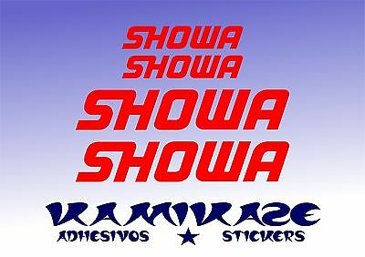 Adhesivo Pegatina Sticker Autocollant Adesivi Aufkleber Decal Kit Showa