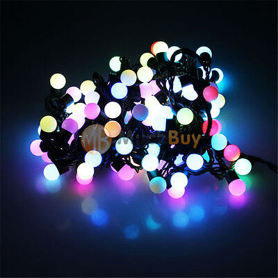 RGB 10M 100Leds 8W Fairy Light String For Wedding Christmas Tree Party