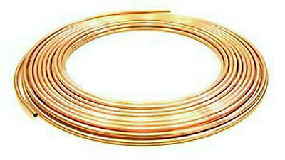 "Buy Me!!! 8Mm Microbore Copper Pipe/Tube ""Sold By The Metre""Gas/Water/Oil/Diy"