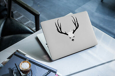 Antlers Decal for Macbook Pro Sticker Vinyl laptop mac funny air 11 13 15 horns
