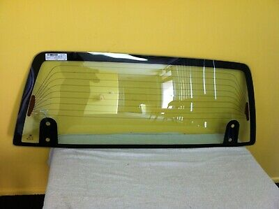 DAIHATSU FEROZA F300 - 10/1988 to 6/1998 - 3DR SUV - REAR WINDSCREEN GLASS (4 HO
