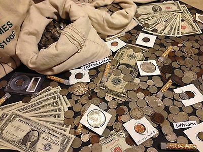 ✯ESTATE SALE LOT OLD US COINS ✯ GOLD SILVER BULLION✯ MONEY✯ COLLECTION 50 YEARS+