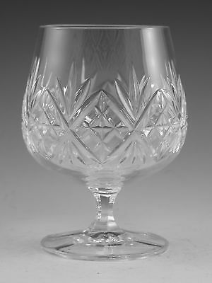 "EDINBURGH Crystal - RENAISSANCE Cut - Brandy Glass / Glasses - 4 3/8"" (2nd)"