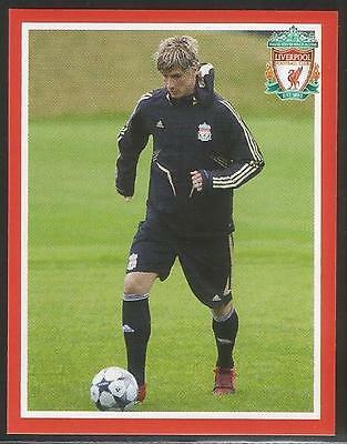 Panini 2009 Liverpool sticker collection #55 Fernando Torres