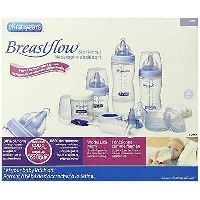 The First Years Breastflow Starter Set New