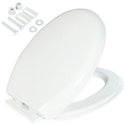 New Luxury Soft Close White Oval Wc Toilet Seat Design Bottom Fixing Heavy Duty