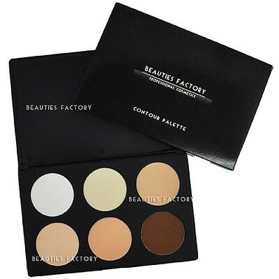 6 Color New Professional Contour Makeup Palette #1 Perfect Skintone #616